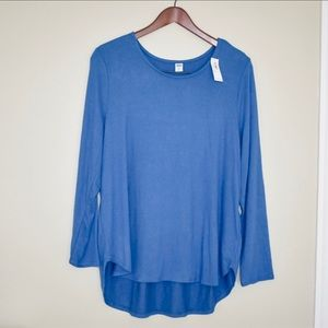 🌵NWT Old Navy Plush-Knit Scoop-Neck Tee